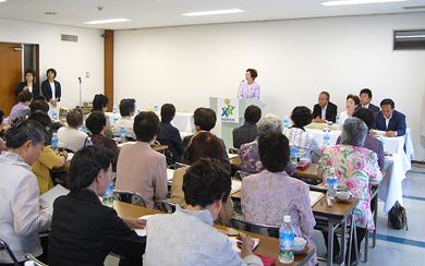 神奈川県連女性局長川口順子参議院議員の挨拶