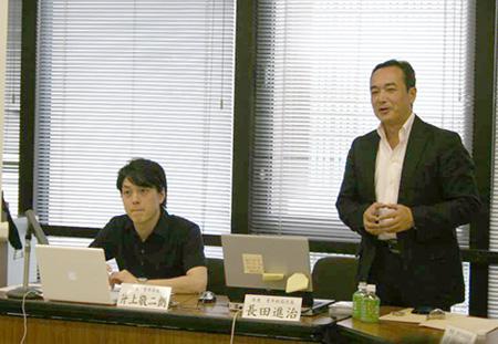 神奈川TOPICSで、『環境問題 丹沢から湘南海岸まで』について ご講演頂いた長田進治(県議・総局次長)
