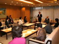持田議長と対話