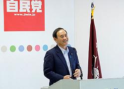 「菅 義偉」内閣官房長官