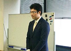 新青年局長に選任された神村健太郎氏